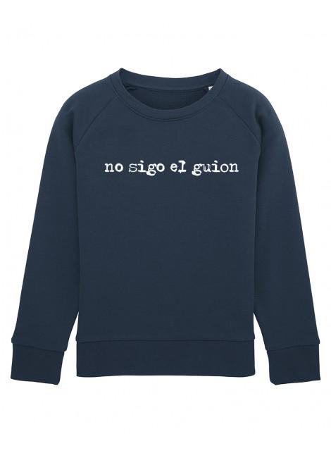 Sudadera Niño Guion