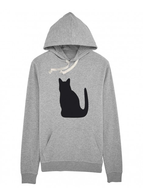 Sudadera capucha Gato