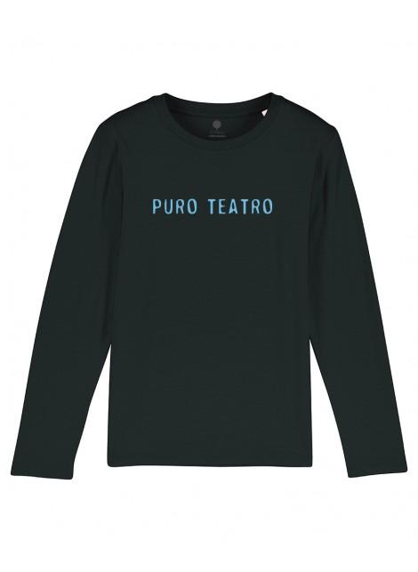 Camiseta Manga larga Niño Puro teatro