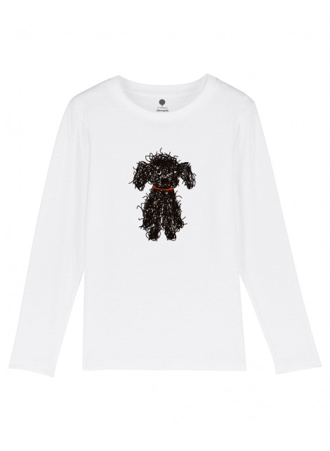 Camiseta Manga larga Niño Perro de Aguas
