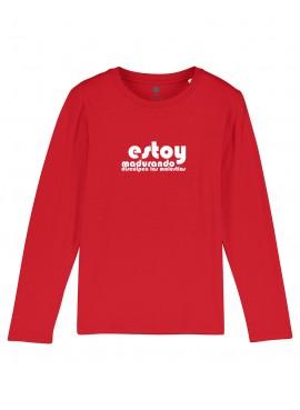 Camiseta Manga larga Niños Madurando