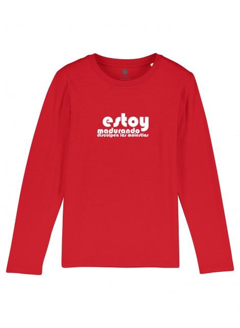 Camiseta Manga larga Niños Estoy Madurando