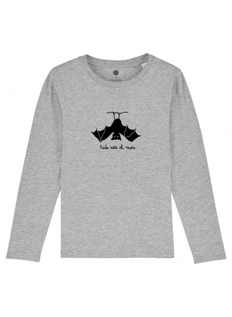 Camiseta Manga larga Niños Murciélago