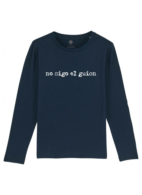 Camiseta Manga larga niños Guion