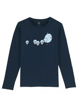 Camiseta Manga larga niños Pollitos
