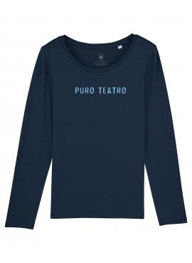 Camiseta Mujer Manga Larga - Puro Teatro