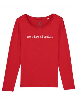 Camiseta Mujer M. Larga Mujer - Guion