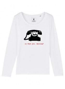 Camiseta Manga Larga Mujer - Hitchcock
