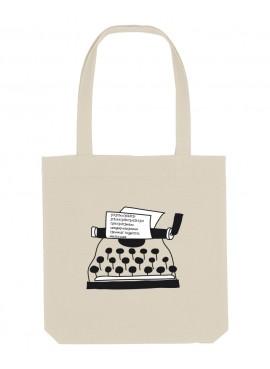 Bolsa - Máquina de escribir