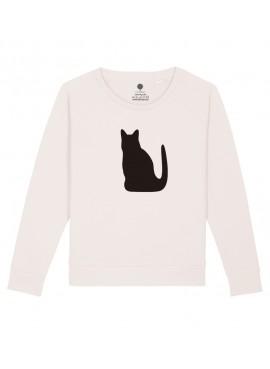 Sudadera Mujer - Gato