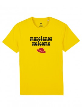 Camiseta Unisex - Marcianos Welcome
