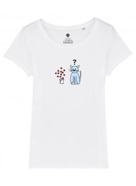 Camiseta Mujer - Ratita enamorada