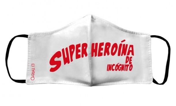 Mascarilla Niños - Superheroína