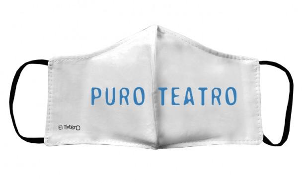 Mascarilla Niños - Puro Teatro
