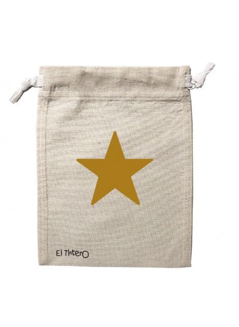 Saquito Estrella dorada