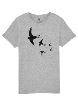 Camiseta Niños Unisex - Golondrinas