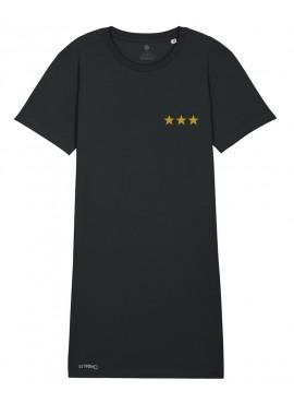 Vestido - Estrellas doradas