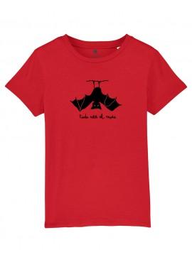 Camiseta Niño Unisex - Murciélago
