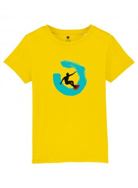 Camiseta Niños Unisex - Surfista