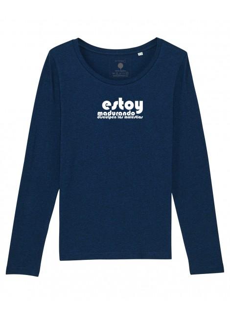 Camiseta M. Larga mujer - Madurando-Oferta