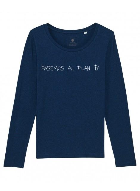 Camiseta M. Larga mujer - Plan B-Oferta