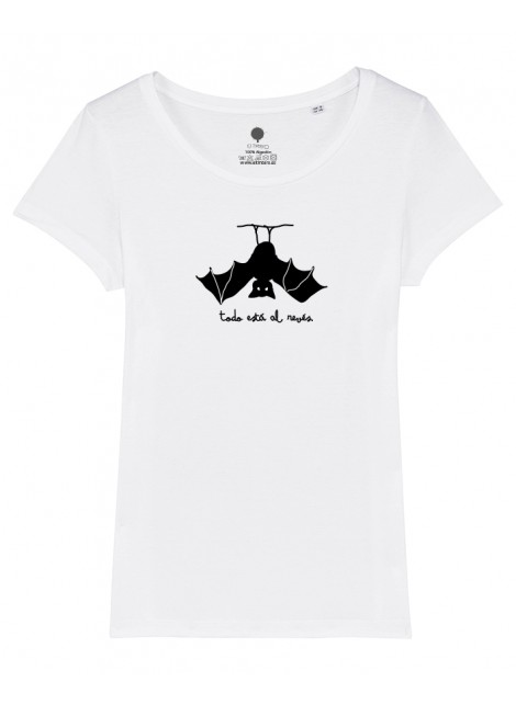 Camiseta mujer - Murciélago-Oferta