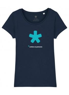 Camiseta mujer - Artista-Oferta