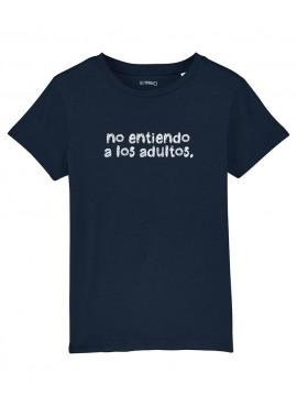 Camiseta Niños Unisex - No entiendo a los adultos