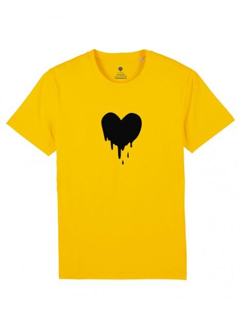 Camiseta Unisex - Corazón derretido.
