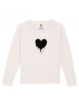 Sudadera Mujer - Corazón derretido