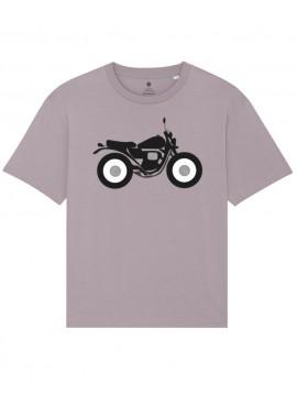 Camiseta Manga Corta Fluida - Moto