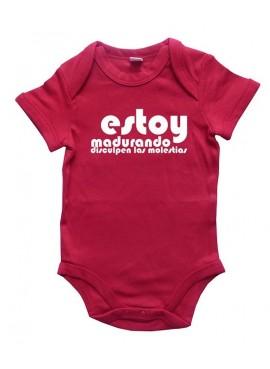 Body Bebé Estoy Madurando, disculpen las molestias.